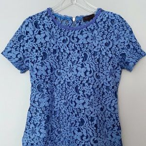 Hale Bob Beaded Lace Blouse Top Size Small